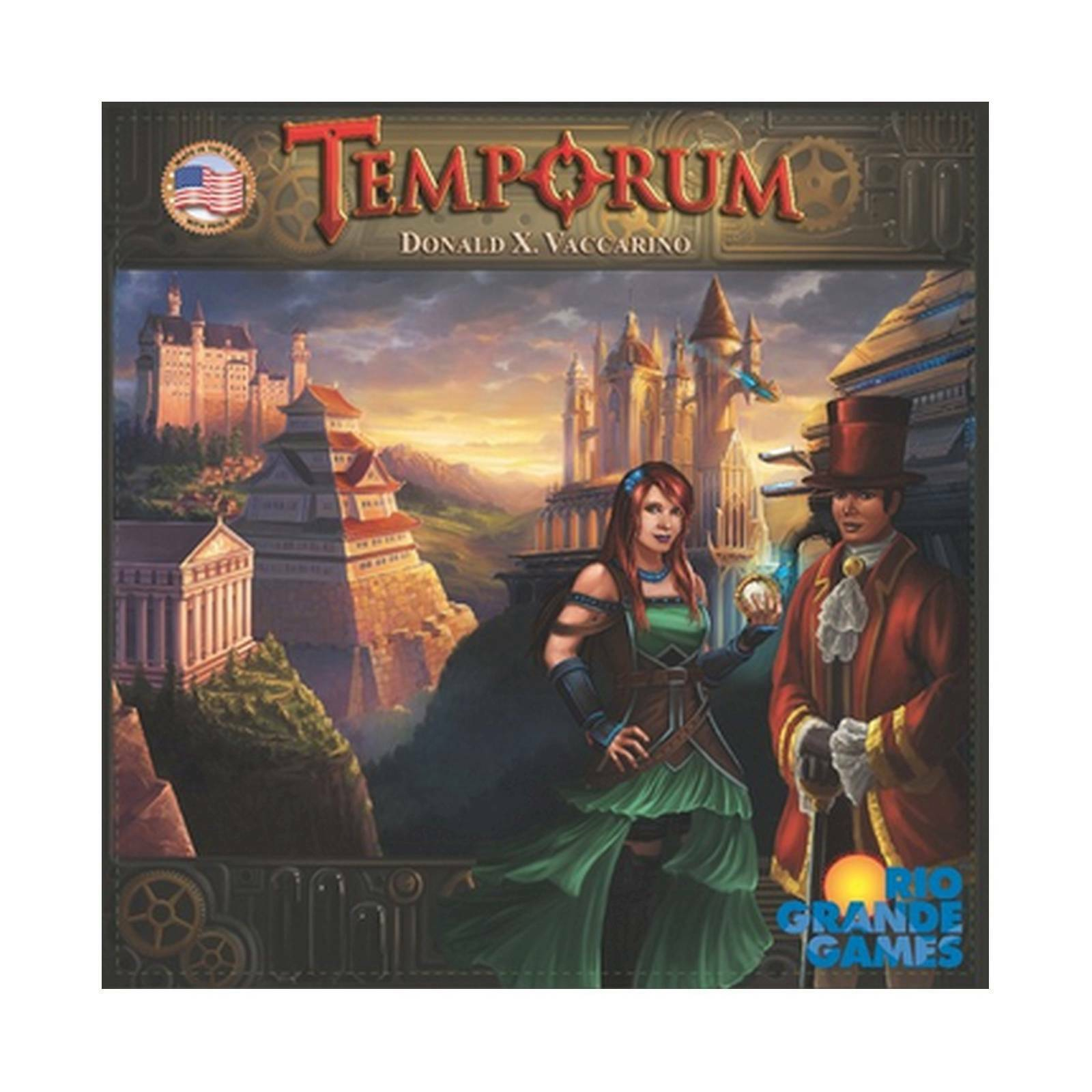 Temporum Board Game Rio Grande 503RGG