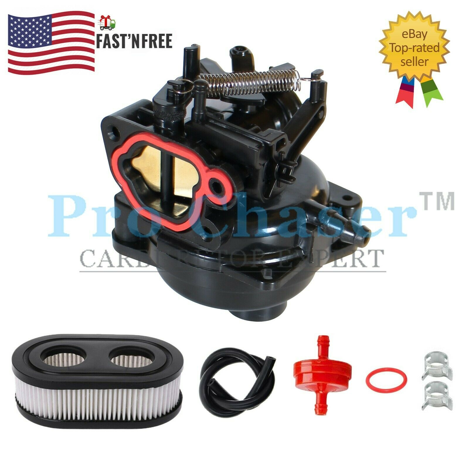 Carburetor Kit For Craftsman Model 247.377051 247377051 Lawn