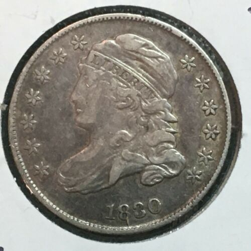 1830  VF-XF  Capped Bust Dime  Nice Coin