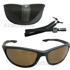 7974bc8df8 Wychwood Wrap Polarised Fishing Sunglasses - Amber   Brown Lens