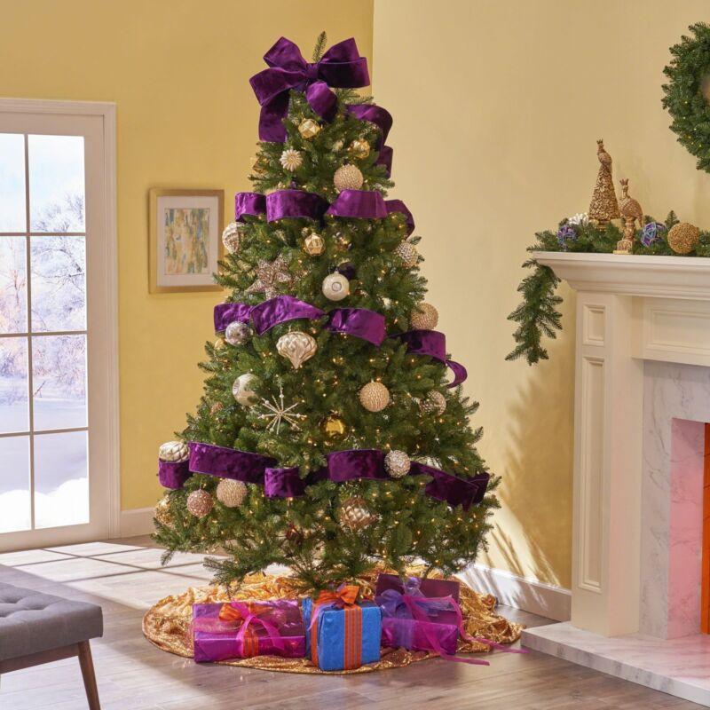 7.5-foot Fraser Fir Hinged Artificial Christmas Tree