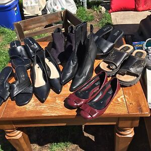 Shoes and boots size 7 whole lot for 30