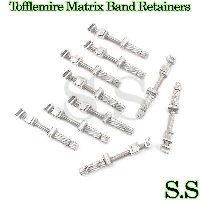 10 Pcs Universal Tofflemire Matrix Band Retainers Dental
