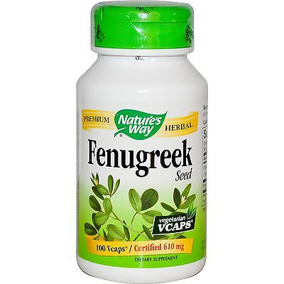 (Fenugreek Pills Seed Oil Extract Tablets Plant Leaves Capsules Herbal Supplement)