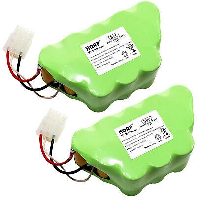 2-Pack HQRP 14.4V Battery for Shark Freestyle Navigator Cord