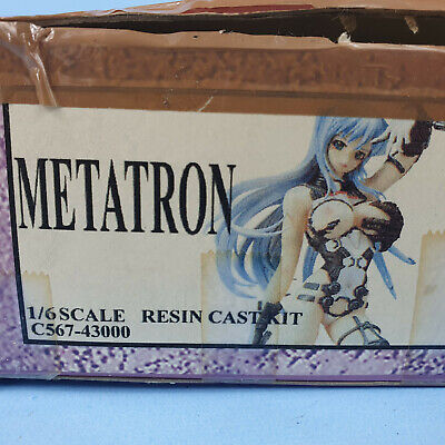 METATRON 1/6 Resin Model Kit Adult Teen Girl Figure Anime Sexy Manga for sale  Shipping to South Africa