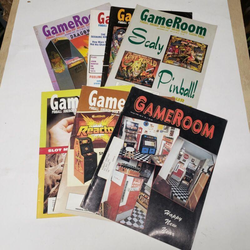 GAMEROOM MAGAZINE 7 Issues- Late 90