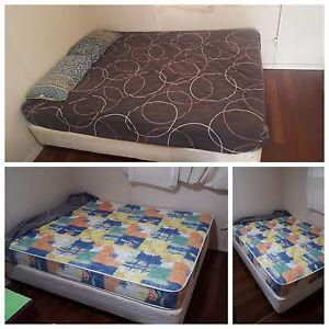 Queen size ensemble bed  sale Bundaberg Central Bundaberg City Preview