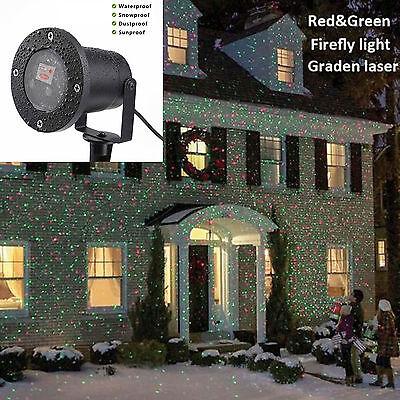 Christmas Projector Light Moving Laser LED Indoor Outdoor Garden Landscape Lamp