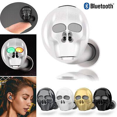 Bluetooth Wireless Designer Headset - 2019 New Design Bluetooth Headset Headphone Skull Style Wireless Earbud Earphone