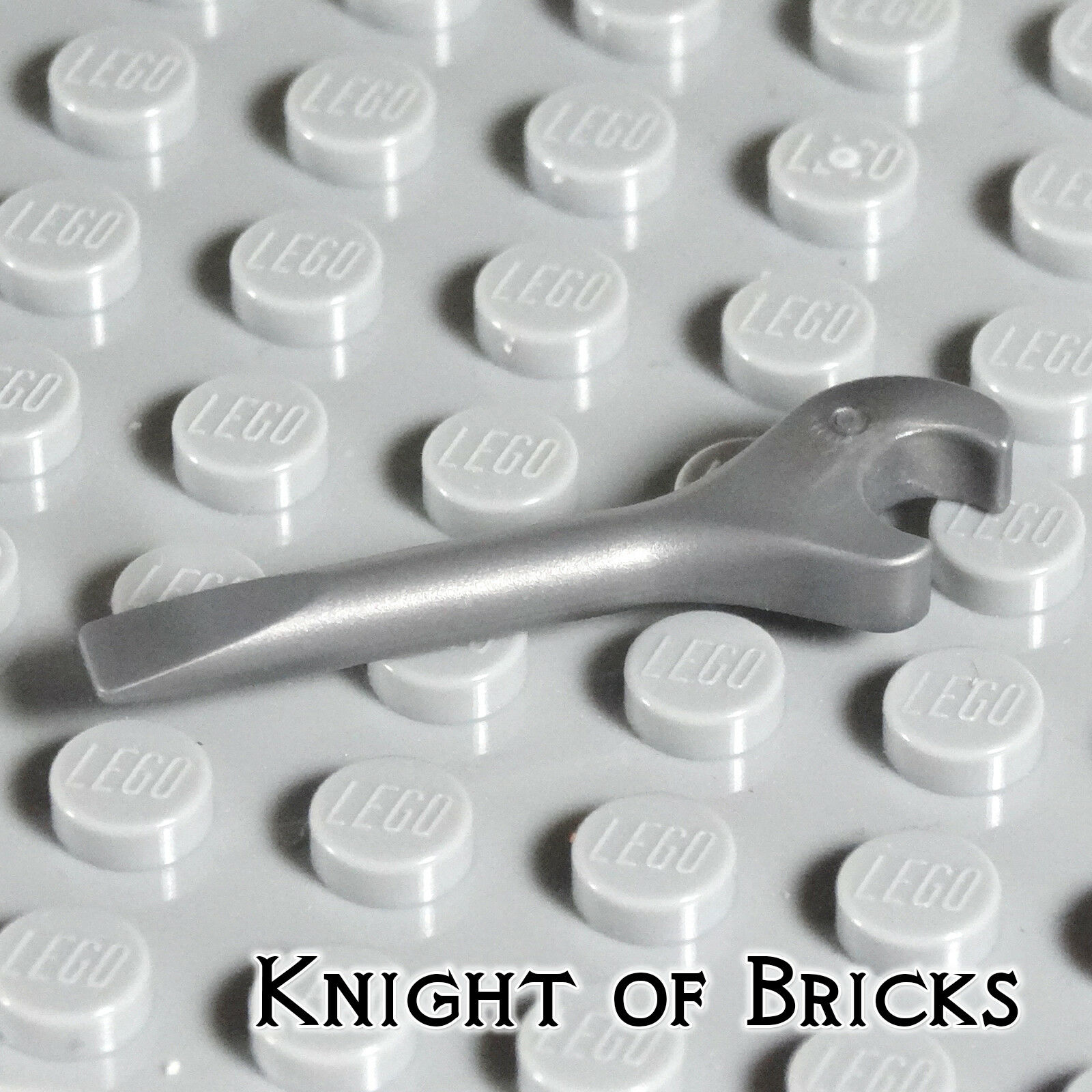 LEGO Light Gray Minifigure Mechanic Wrench Tool