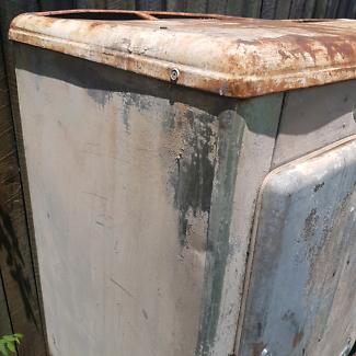 2 x  identical 1950's Silent Night kerosene fridges for sale