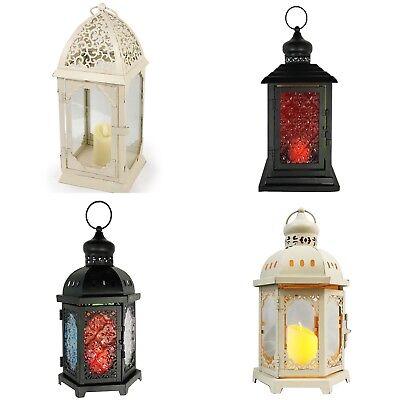Allgala Glass LED Candle Lantern