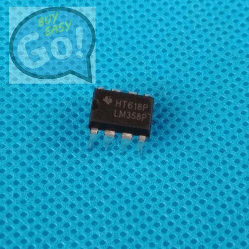 10/20/50/100PCS LM358N LM358P LM358 358 Low Power Dual Op-Amp IC TI DIP-8