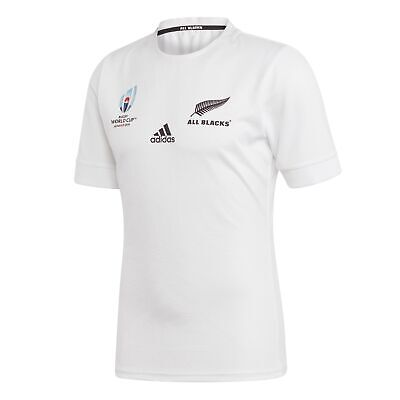 adidas Official Mens All Blacks New Zealand Rugby World Cup Away Jersey Shirt