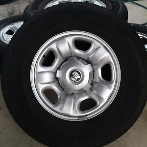 New Genuine Holden Colorado Rims & Bridgestone tyres Bokarina Maroochydore Area Preview