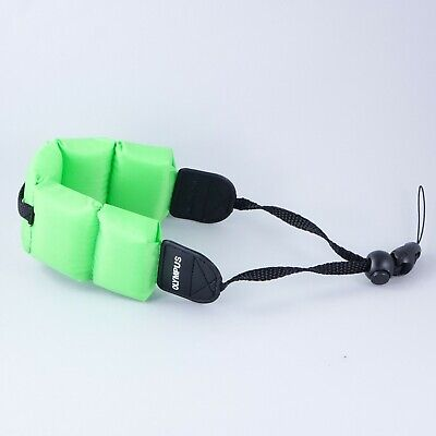Olympus Float Strap for Underwater Cameras, Green #QF3