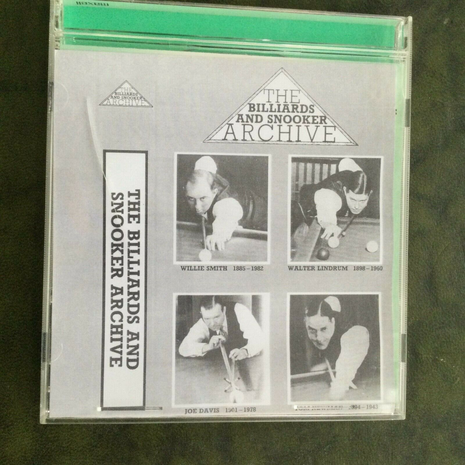 The Billiard and Snooker Archive volumes 5 and 6 - DVD
