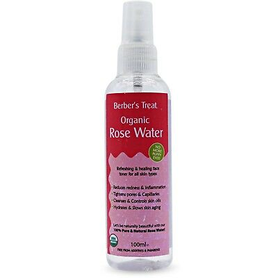 Organic Rose Water - Natural Facial Toner Spray