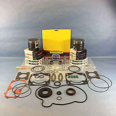 NEW POLARIS 600 WISECO PISTONS COMPLETE GASKET KIT 77.25MM 2011-2014 IQ 600 LXT