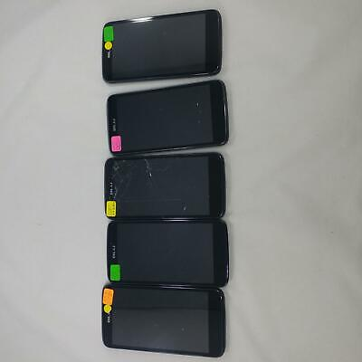 Lot of 5 BLU Studio G Plus S510Q GSM Unlocked DUAL SIM Cellphone BLACK LOT 429 for sale  Shipping to India
