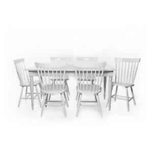 Washington 7pcs Dining Set 599 For SALE