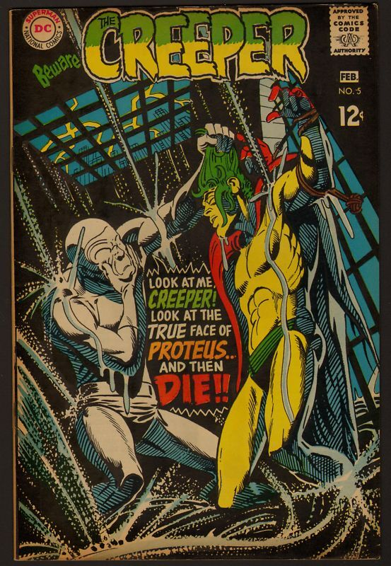 BEWARE THE CREEPER #5 VF/NM SILVER AGE 1968