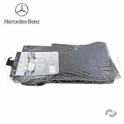 For Mercedes Benz C-Class W204 Sedan 08-14 Black All Weather Mats Genuine OEM