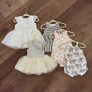 Baby Girl Clothes: 0-6 months
