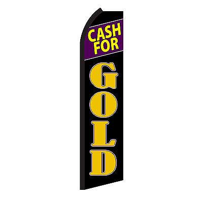 Cash For Gold Swooper Flag
