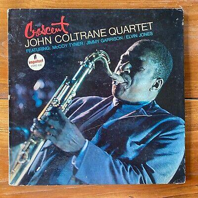 John Coltrane – Crescent – Post-Bop-Modal Jazz Vinyl LP – McCoy Tyner - Original