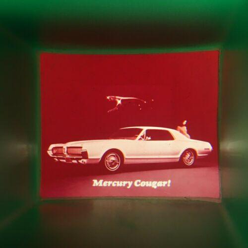 RARE 1967 NEW MERCURY COUGAR INTRO Hand Held Viewer KEY CHAIN / Super Vintage !