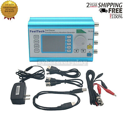 Function Arbitrary Waveform Generator Dual-channel 100mhz Frequency Signal Meter