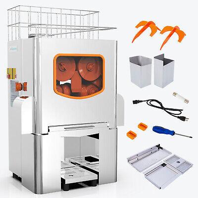 Commercial Electric Orange Squeezer Lemon Citrus Extractor Press Juice Machine