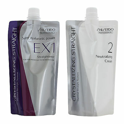 Shiseido Professional Crystallizing Straight EX Set For Very Resistant Hair