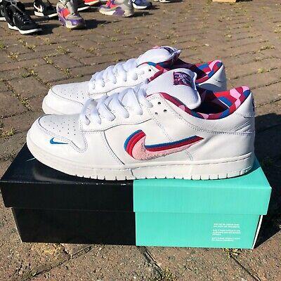 Nike SB Dunk Low Parra White Mens Size 10.5