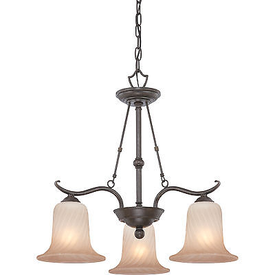 Royal Bronze Finish Chandeliers (Quoizel PHP0647B - Philip Chandelier 23