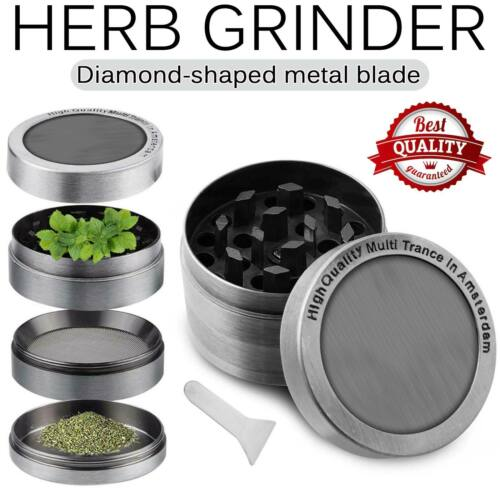 tobacco herb grinder spice herbal alloy smoke