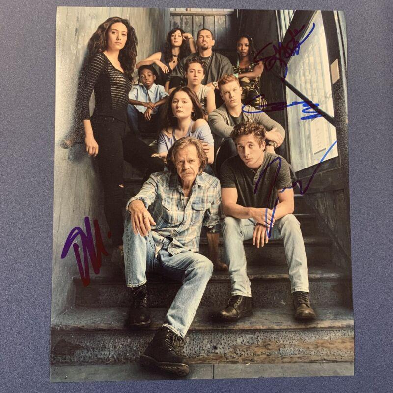 SHAMELESS CAST x4 SIGNED 8x10 PHOTO AUTOGRAPH CAMERON MONAGHAN & MORE COA
