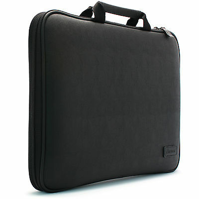 ASUS Chromebook Flip 10.1 Laptop Case Sleeve Protect Bag Synthetic Leather Black