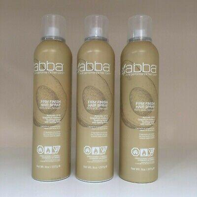 ABBA Firm Finish Aerosol Hair Spray - 8 oz *** FRESH&NEW PACKAGING***YOU CHOOSE!