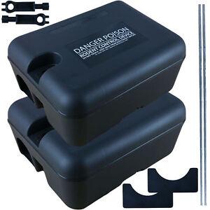2 x PROFESSIONAL RODENT BOX TRAP STATION - RAT MICE MOUSE - NO POISON BAIT INC.