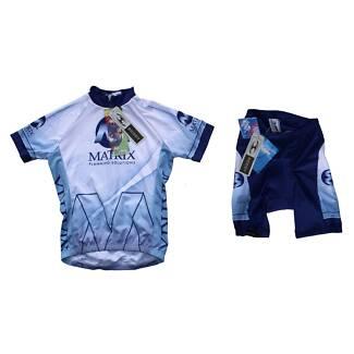 Scody 'MATRIX Planning Solutions' Cycling Jersey & Shorts Set