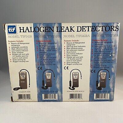 Tif 5750a Halogen Refrigerant Leak Detector Nib W Case All Paperwork