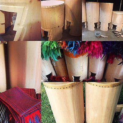Huehuetl Drum 34