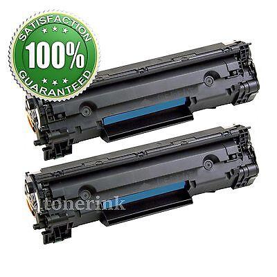 2x CF283A Black Toner For HP 83A LaserJet Pro MFP M127fn M127fw M125nw M125rnw