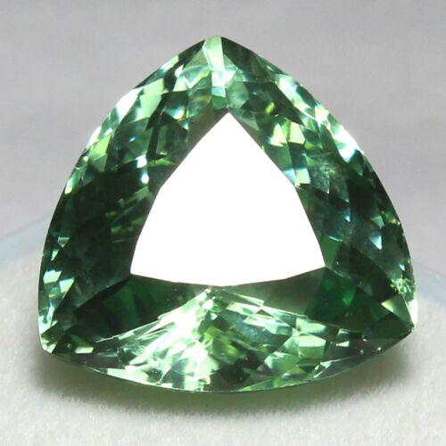 Certified 23.35 Ct Natural Montana Green Sapphire UNHEATED Loose Gemstones