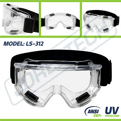 Safety Goggles Glasses Anti Fog Scratch Resistant Uv Protective Jorestech