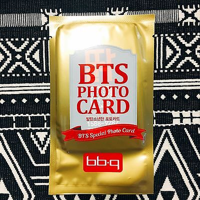 [BTS BBQ Photocard] Bangtan Boys Random Ver Official New 2nd Version Photo Card