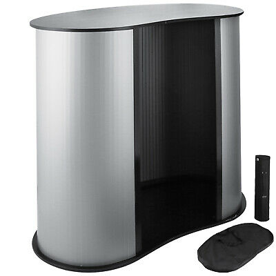 3636 Trade Show Display Podium Table Counter Stand Speech Oval Bean